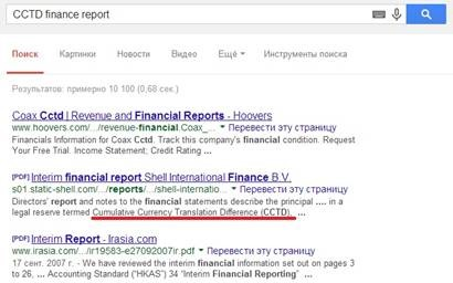 Google search for English-Russian translators