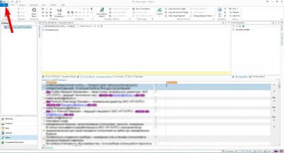 Save as target files in SDL Studio